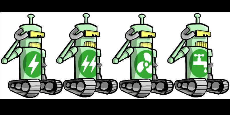 robot-salut-x4